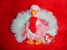 Ty Beanie Baby Tom-e The Thanksgiving Turkey