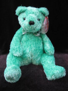 Ty  Luck-e  Lucky Ty Store Excluse Irish Bear Beanie Baby
