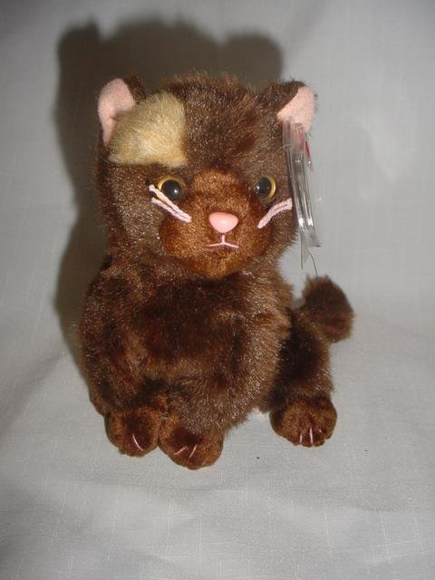Ty Beanie Baby Fiddler The Cat Beanie of the Month