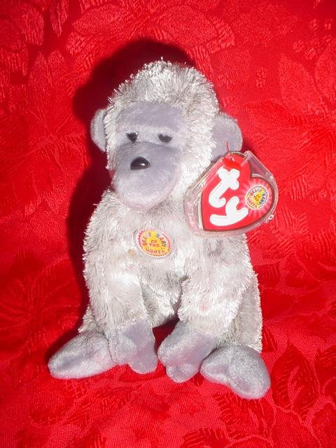 Ty Beanie Baby Virunga the Ape Beanie of the Month