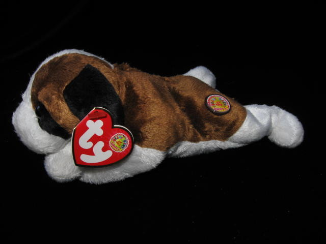Ty Beanie Baby Alps The St. Bernard  Dog Beanie of the Month - Retired Beanie Baby