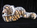 Ty Retired Tygerhugs Pillow Pal With Rattle Baby Ty Tyger Tiger Hugs Ty Silk