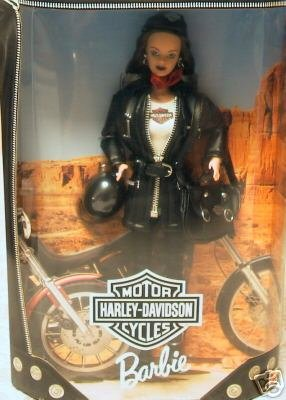 Mattel Harley Davidson Barbie Doll #3 in Series - Harley Barbie Doll