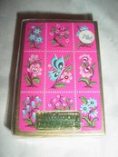 Sealed Deck of Playing Cards Butterfly & Flowers