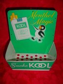 SALE Kool Cigarette Advertising  Display Tin