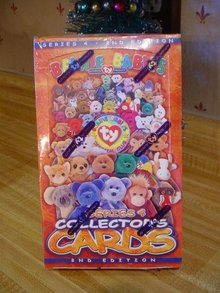 Ty Beanie Baby Collector's Trading Cards - Factory Sealed Box
