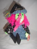 Ty Beanie Baby Scary The Witch