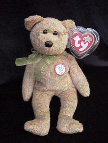 Ty Speckles the Teddy Bear Beanie Baby