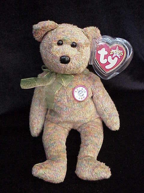 Ty Speckles the Teddy Bear Beanie Baby