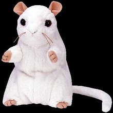 Ty Cheezer The Mouse Ty Beanie Baby
