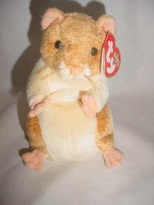 Ty Pellet The  Hamster Beanie Baby Retired