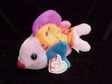Ty LIPS The Fish Beanie Baby