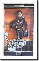 Mattel Harley Davidson African American - Black Barbie Doll #5 in Series Harley Barbie Doll