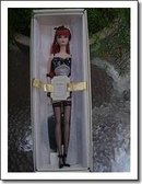 2 Silkstone Dolls - Silkstone Barbie Doll Lingerie #6 in Series & Barbie Model Fashion Insider Silkstone Ken Doll