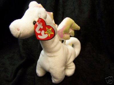 Chinese Year Of The Dragon  - Ty  Magic The White Dragon Beanie Baby