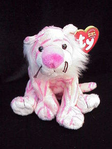 Ty  Mystique Circus Lion Beanie Baby