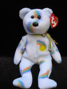Ty Cheery  Sunshine Bear Beanie Baby