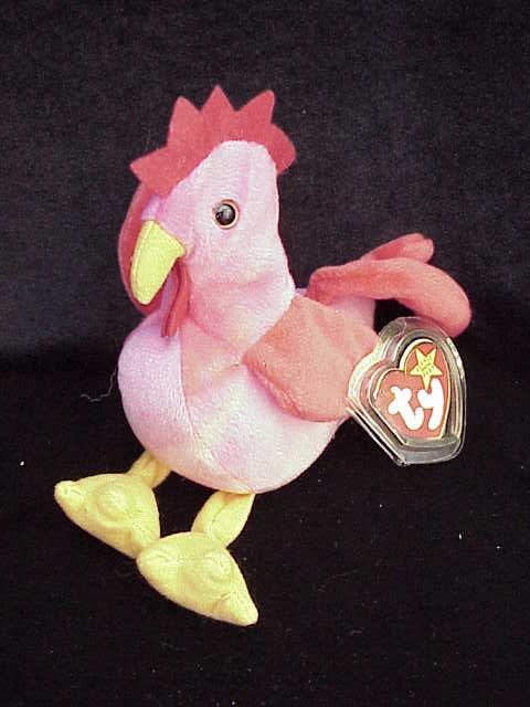 Ty Strut The Rooster Beanie Baby