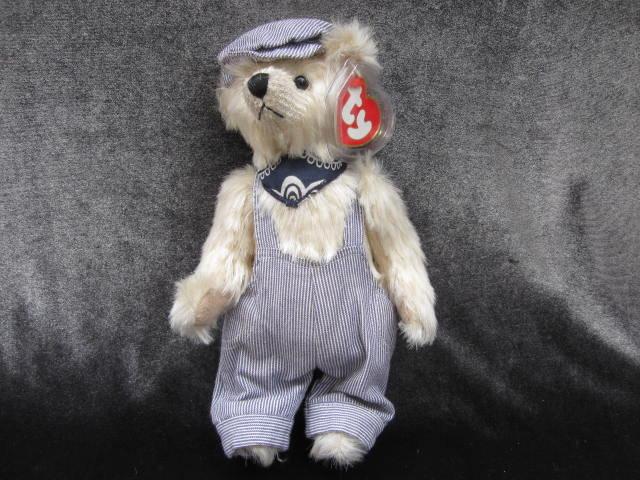 Ty Caboose The Train Teddy Bear Attic Treasure