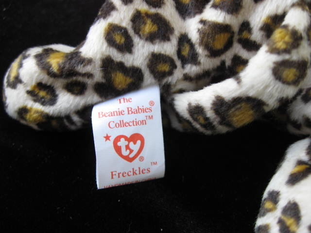 Ty Freckles The Leopard Retired Beanie Baby