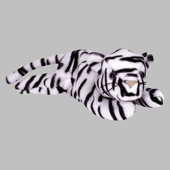 Ty Blizzard The White Tiger Retired Beanie Baby