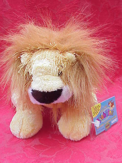 New Webkinz LION With  No Magic W Has Sealed TAG + Secret Code