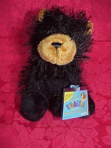 New Webkinz BLACK BEAR - Has Sealed TAG + Secret Code