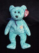Ty Sparkles Beanie Of The Month  Beanie Baby Teddy Bear