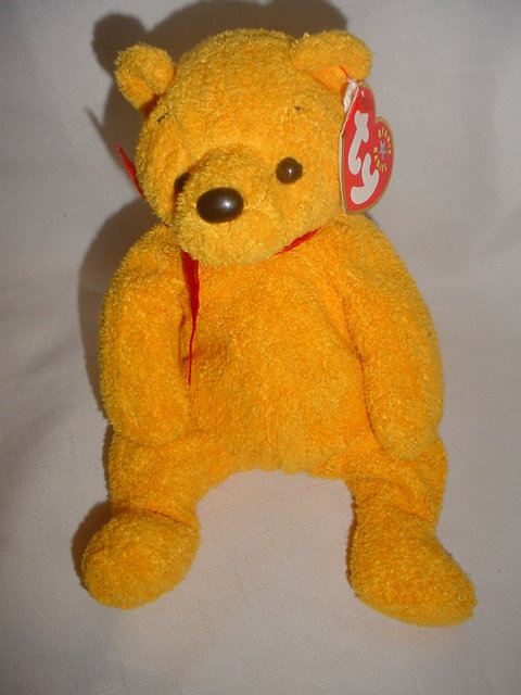Retired Ty Poopsie Beanie Baby Teddy Bear