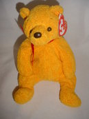 Retired Ty Poopsie Beanie Baby Teddy Bear