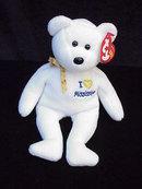 Ty I Love Mississippi Beanie Baby Teddy Bear