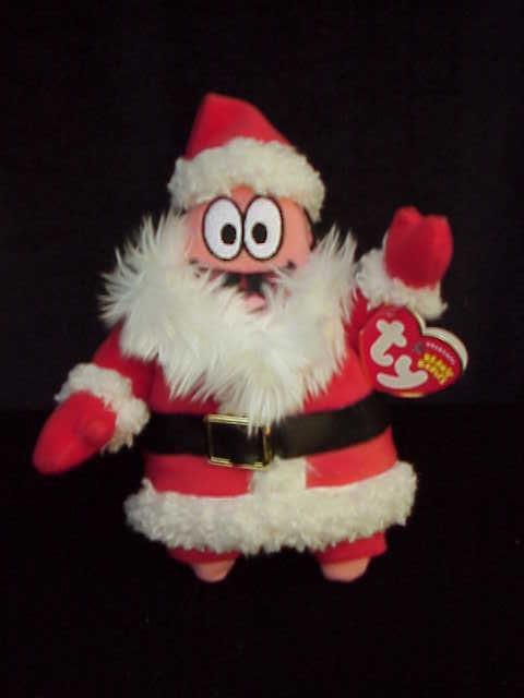 Ty Patrick Claus Beanie Baby Santa Claus