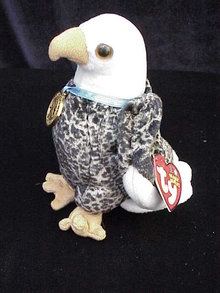Ty VALOR THE EABLE Beanie Baby Bird