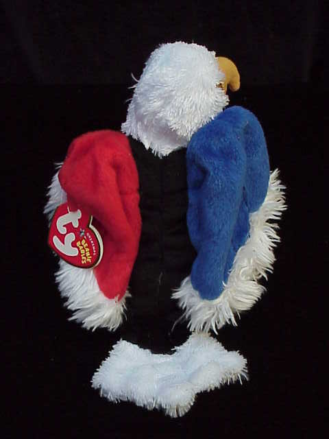 Ty FREE THE EABLE Patriotic Beanie Baby Bird