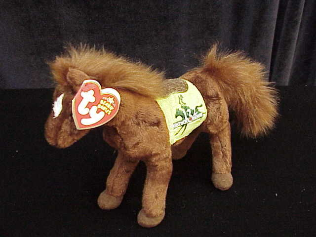 Ty DERBY 123 THE RACE HORSE PONY  Kentucky Derby  Beanie Baby