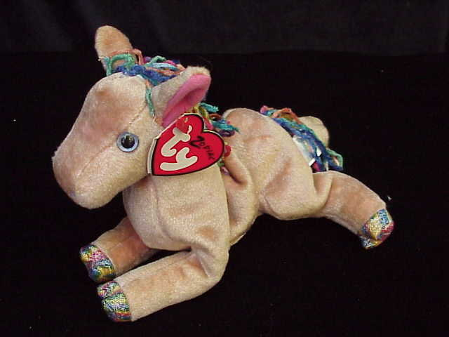 Ty ZODIAC HORSE  Beanie Baby  Horse With Cloven Hooves