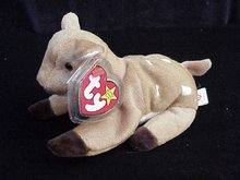 Ty WHISPER THE FAWN Beanie Baby  Deer