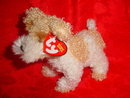 Ty SCRAPPY THE DOG Beanie Baby Terrier Dog