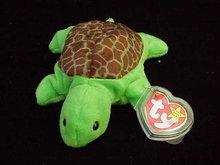 Ty SPEEDY THE TURTLE  Beanie Baby