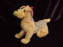 Ty WHISKERS THE DOG Beanie Baby