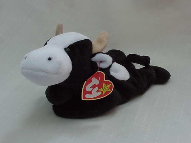 Ty Daisy The Cow Beanie Baby