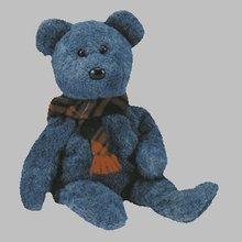 Ty Wallace the Scottish Beanie Baby Teddy Bear