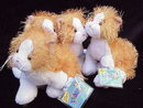 Retired Webkinz Gold & White Kitty Cat  With No  Magic