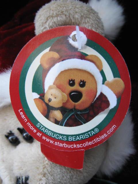 Starbucks 2005 Bearista Christmas Girl  Bear 43rd Edition