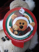 Starbucks 2005 Bearista Christmas Girl  Bear 43rd Edition