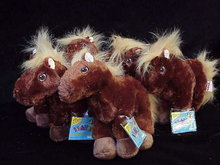 Webkinz Brown Horse Retired  With Sealed Tag  & Unused Secret Code