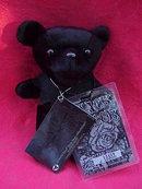 Grateful Dead Limited Numbered Edition Liquid Blue Black Peter Bean Bag Bear  13,459 of 30,000