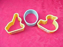 3 Vintage Rice Krispies Advertising Easter Cookie Cutters Kellogg's