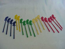 17 Colorful Fish Shanty Old Sailor Swizzle Sticks