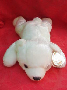 New Ty Chilly The Polar Bear Beanie Buddy